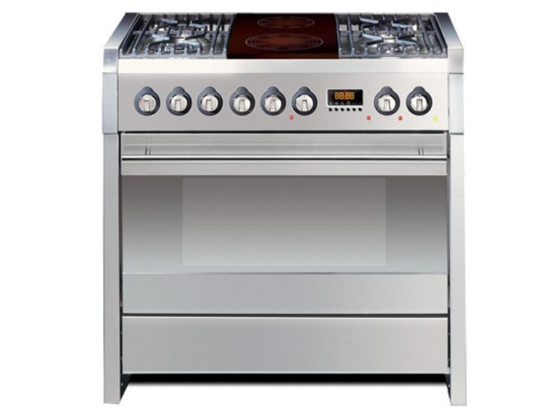 Stainless steel cooker SINTESI 90 | Cooker by Steel