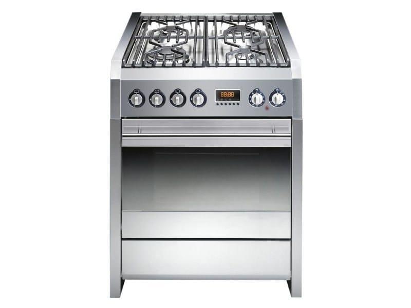 Cuisinière en acier inoxydable SINTESI 70 By Steel