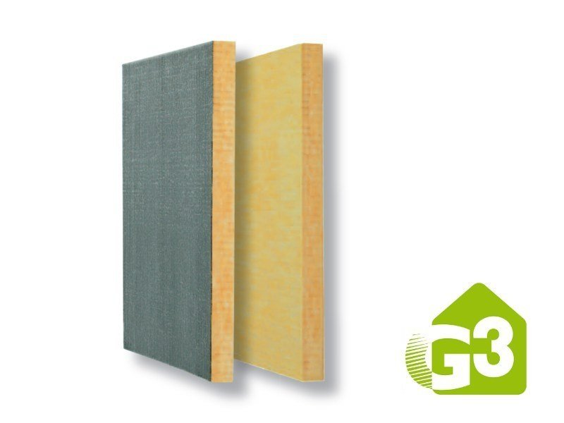 Glass wool Thermal insulation panel BAC CF ROOFINE® G3 by Saint-Gobain ISOVER