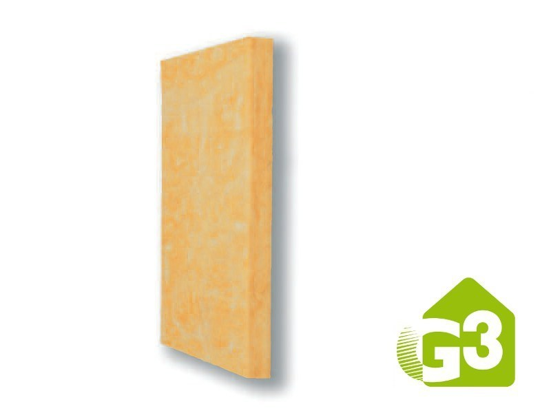 Glass wool Thermal insulation panel E60 S G3 by Saint-Gobain ISOVER