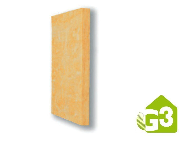 Glass wool Thermal insulation panel E100 S G3 by Saint-Gobain ISOVER