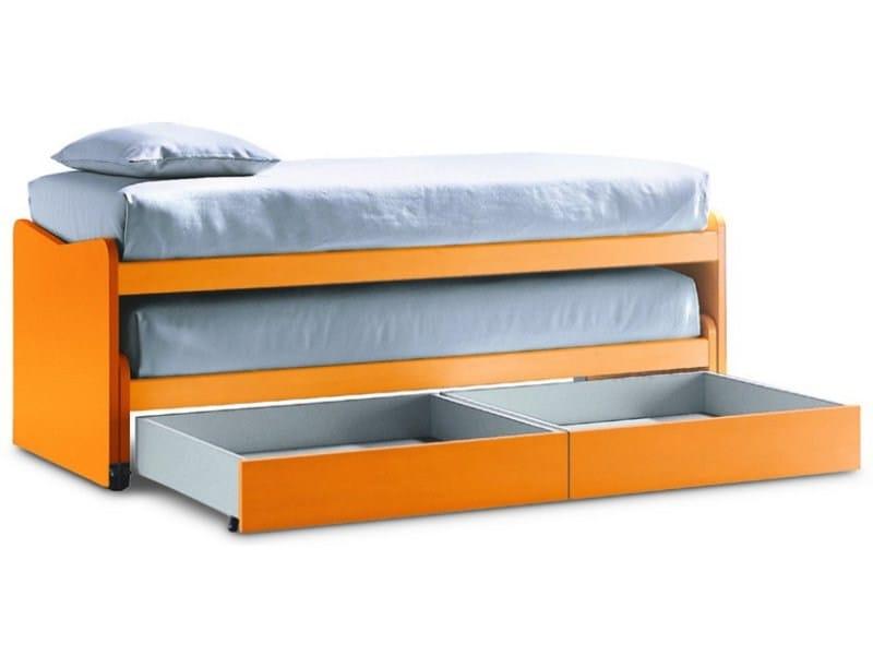 Trundle bed CLUB SANDWICH by Zalf