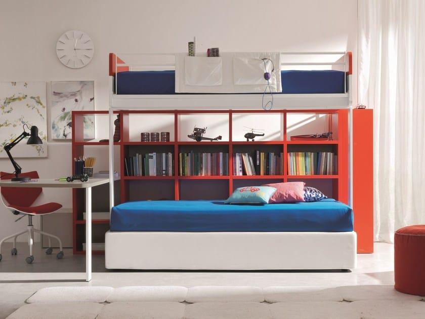 Wooden bunk bed CASTELLO DI ROBIN by Zalf