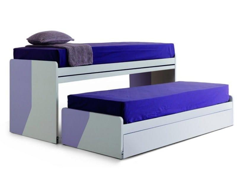 Trundle bunk bed TOP VIRGOLA by Zalf