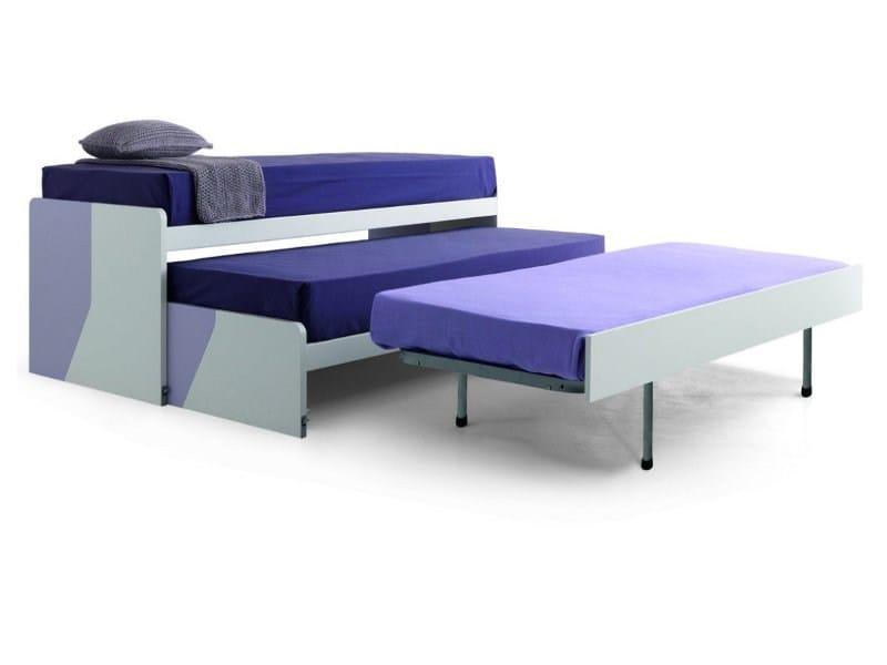 Trundle bed CLUB VIRGOLA by Zalf