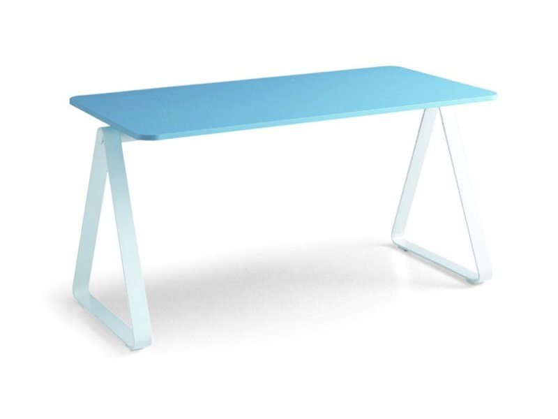 Rectangular metal Kids writing desk ARCHIMEDE by Zalf