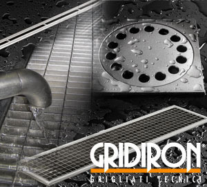 Drainage channel and part Stainless steel products by GRIDIRON GRIGLIATI