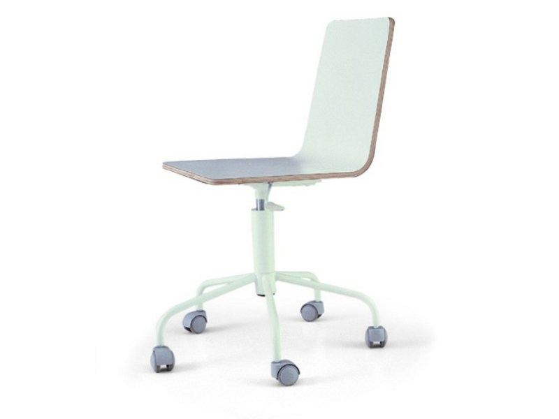 Chair with casters STRATO by Zalf