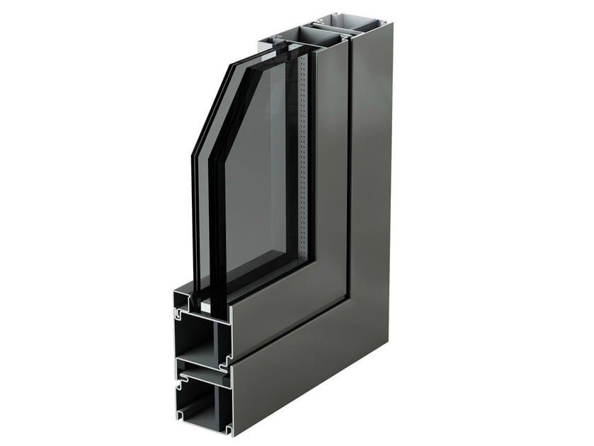 Porta-finestra di sicurezza in acciaio MOGS ANTIPROIETTILE by Mogs