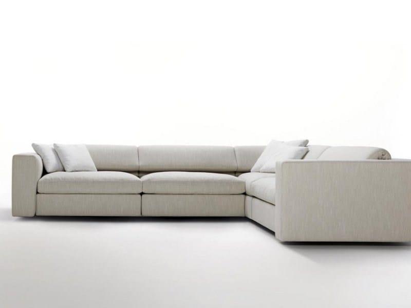 Sofa with removable cover TIBET SOFT by Désirée divani