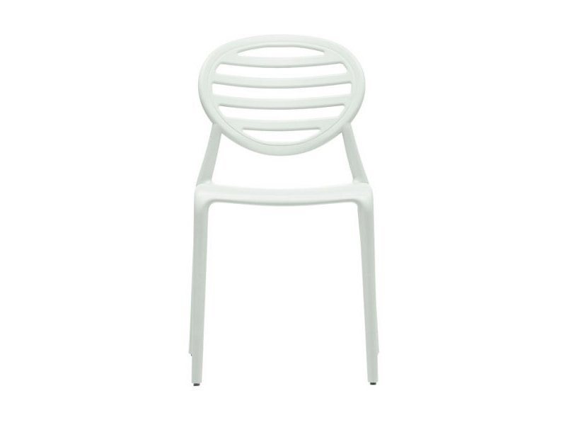 Medallion ergonomic stackable chair TOP GIO by SCAB DESIGN