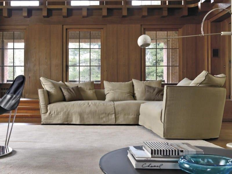 Sofa with removable cover LOV TREND | Sofa by Désirée divani