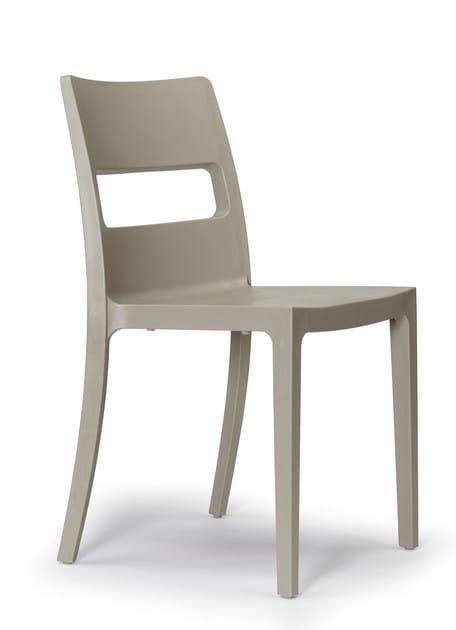 Sedia ergonomica impilabile SAI by SCAB DESIGN