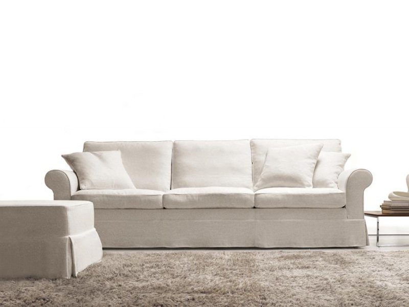 Fabric sofa with removable cover MEMORY QUEEN by Désirée divani