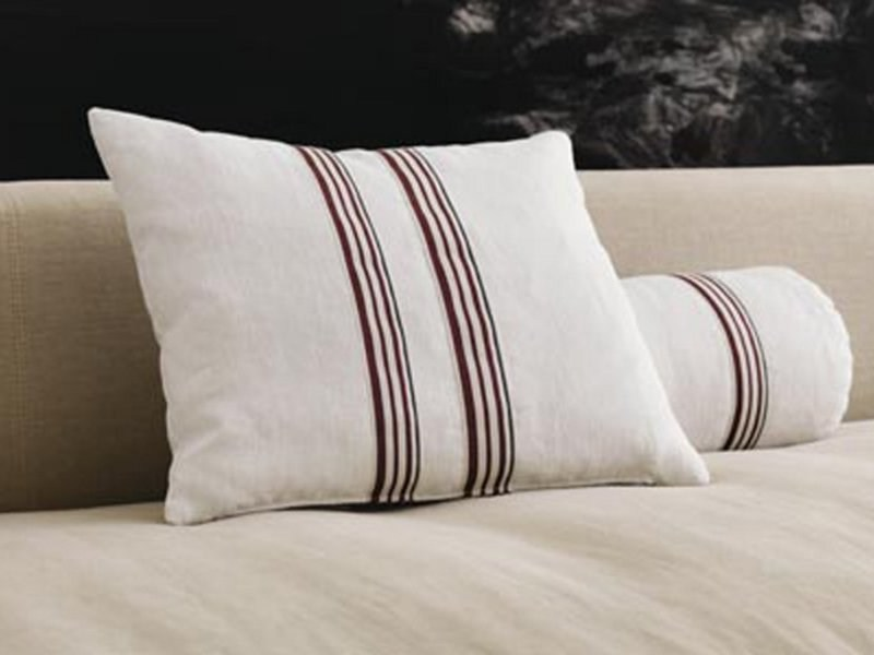 Sofa cushion with removable cover STRIPE | Cushion by Désirée divani