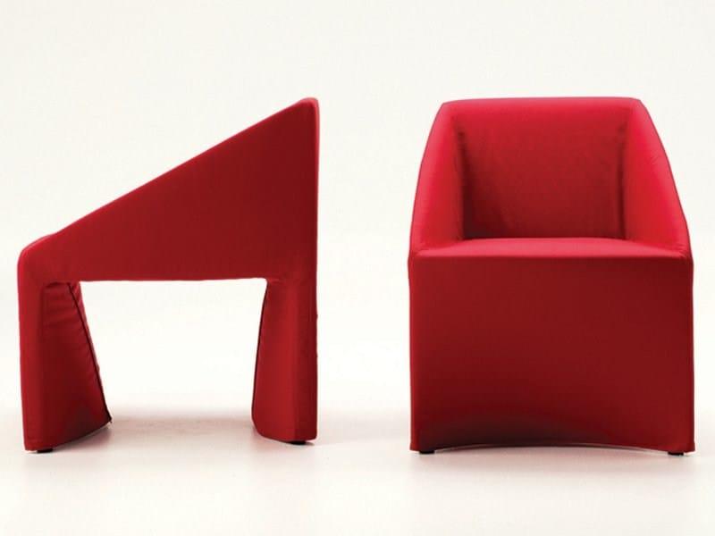 Fabric armchair ANGEL by Désirée divani