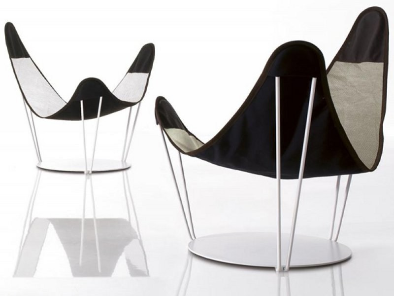 Armchair with removable cover STELO by Désirée divani