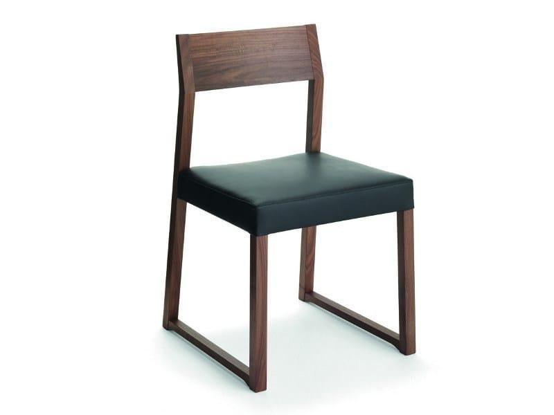 Wooden chair LINEA   Chair by Cizeta L'Abbate