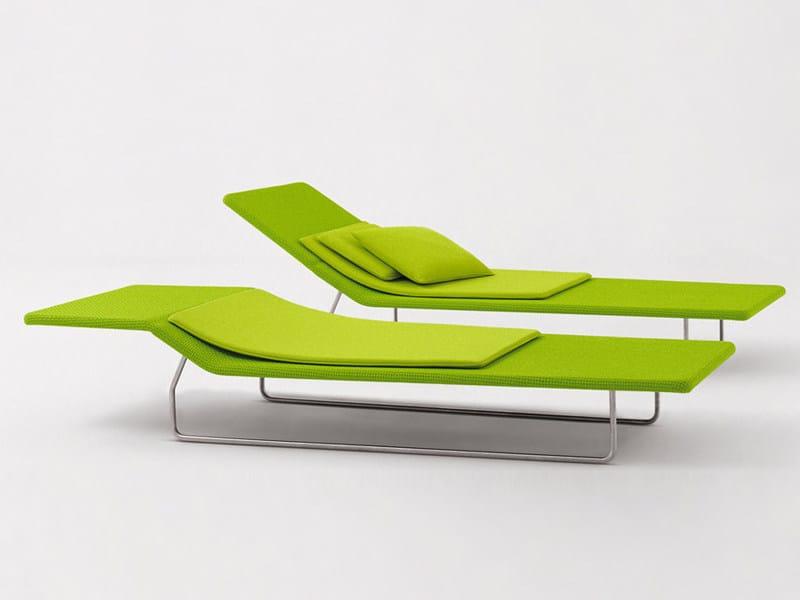 Gartenliege design  Verstellbarer Gartenliege SURF By paola lenti Design Francesco Rota