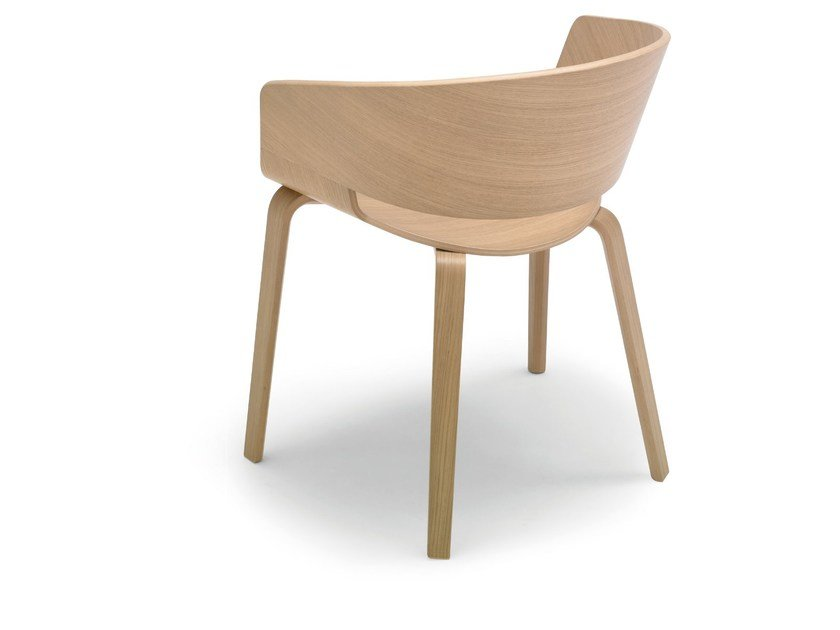 Wooden chair RONDA | Wooden chair by Andreu World