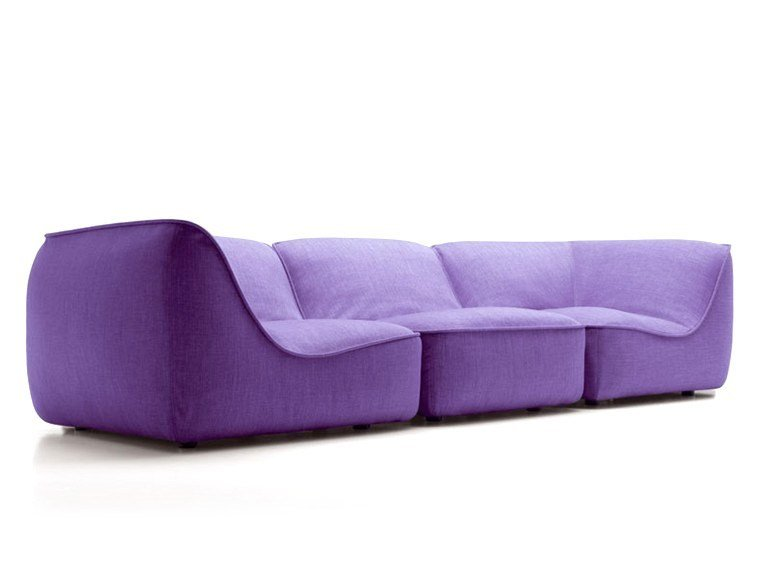 Modular sofa SO by paola lenti