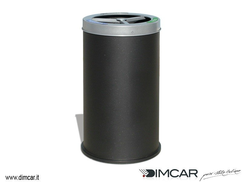 Outdoor steel litter bin for waste sorting Cestone Elios by DIMCAR