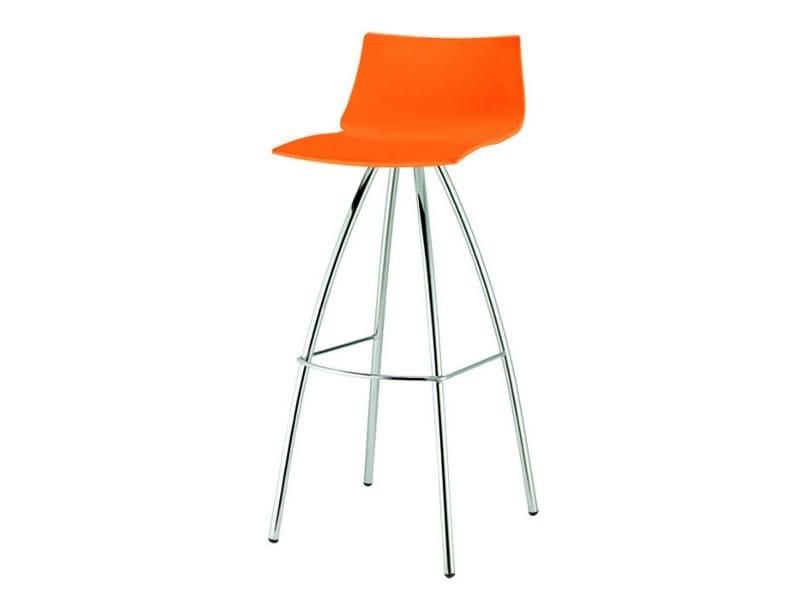High polypropylene stool DAY by SCAB DESIGN