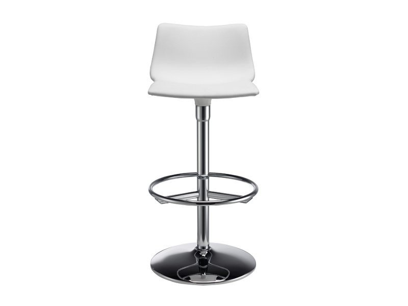 Swivel upholstered barstool DAY TWIST POP by SCAB DESIGN