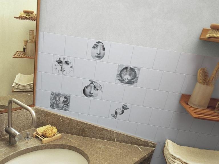 Ceramic wall tiles TEMA E VARIAZIONE 1 by Ceramica Bardelli