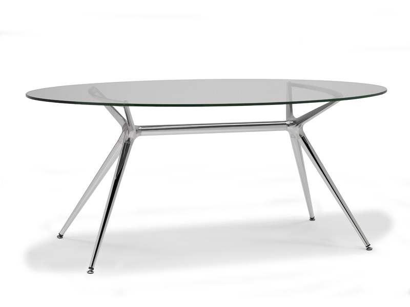 Oval dining table METROPOLIS | Oval table by SCAB DESIGN