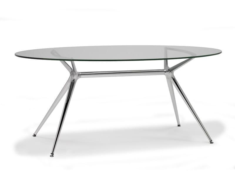 METROPOLIS | Tavolo ovale By SCAB DESIGN