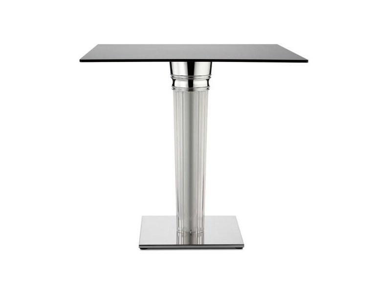 Contemporary style aluminium table TIFFANY DIAMANTE | Table by SCAB DESIGN