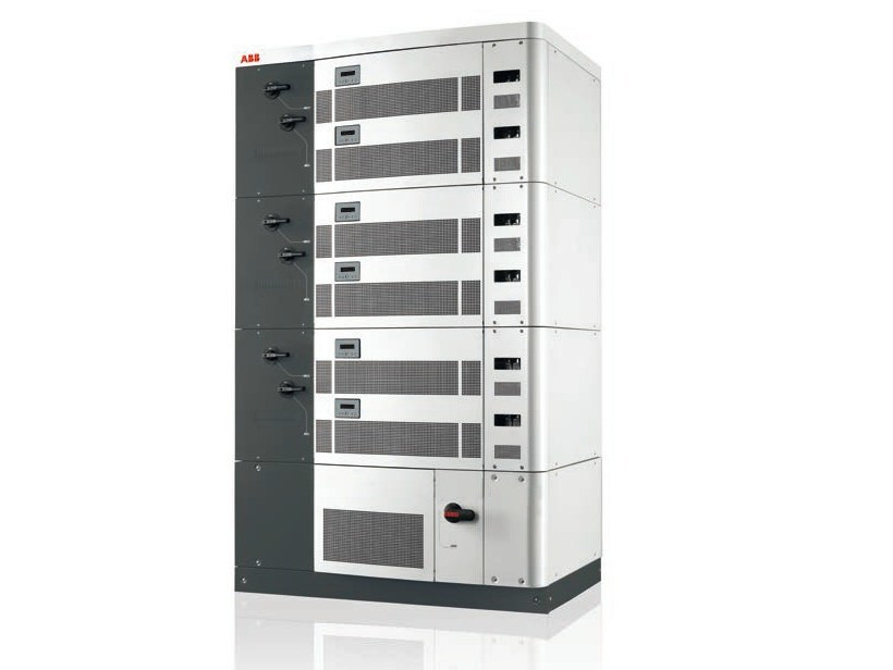 Three-phase Inverter for photovoltaic system PVI-400.0 by ABB