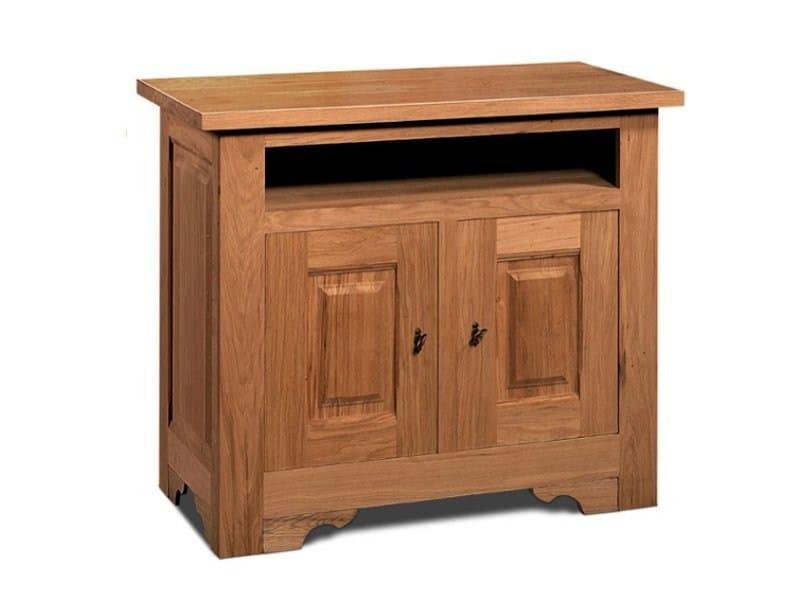 Wooden TV cabinet ARDECHE   TV cabinet by Domus Arte