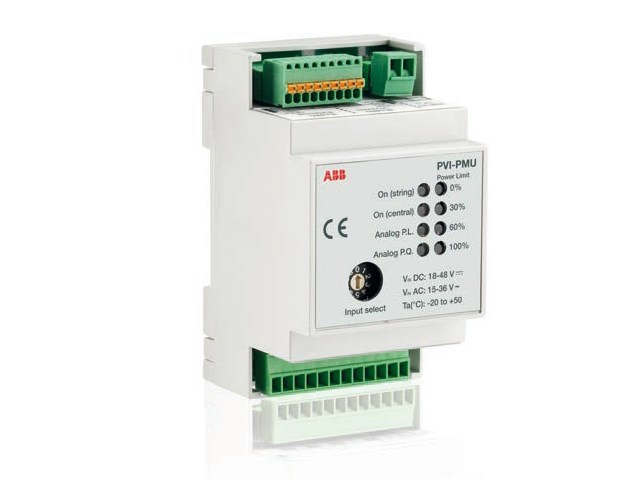 Monitoring system for photovoltaic system PVI-PMU by ABB