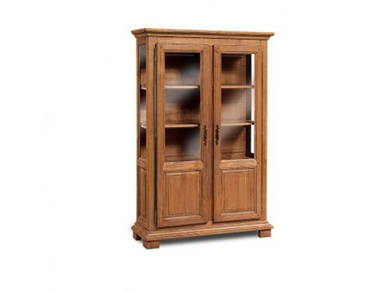 Wooden display cabinet GIRONDE | Display cabinet by Domus Arte