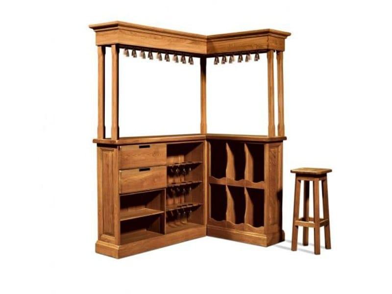 Wooden bar cabinet GIRONDE   Bar cabinet by Domus Arte