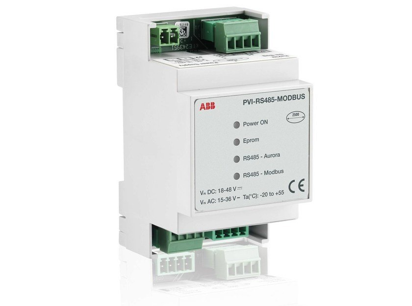 Monitoring system for photovoltaic system PVI RS485-MODBUS by ABB