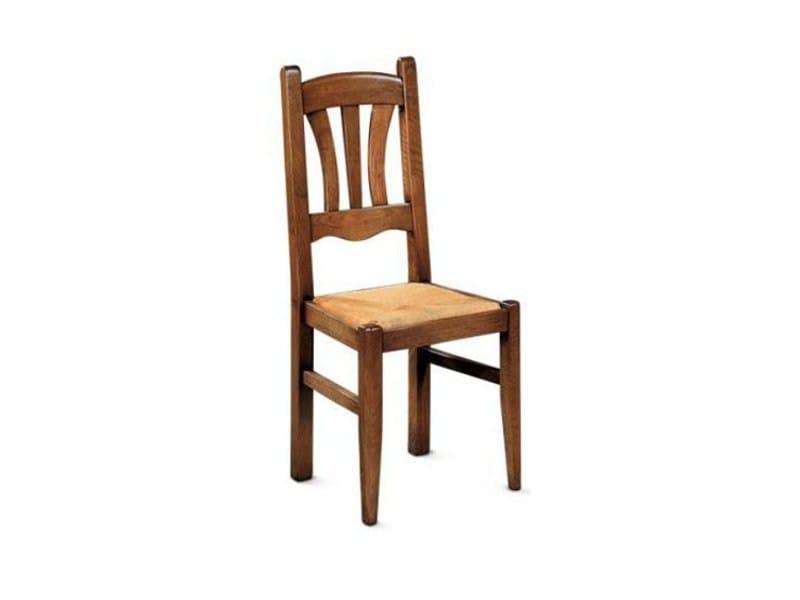 Wooden chair ARDECHE   Chair by Domus Arte