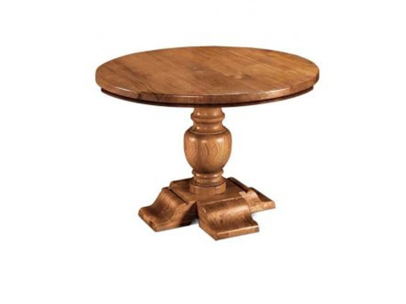 Round wooden coffee table GIRONDE | Coffee table by Domus Arte