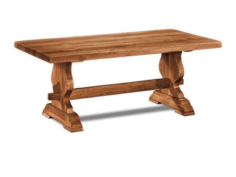 Rectangular wooden table MONASTERE by Domus Arte