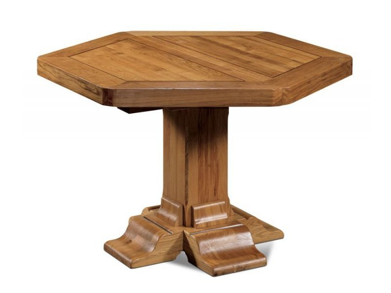 Extending wooden table ALSACE   Extending table by Domus Arte