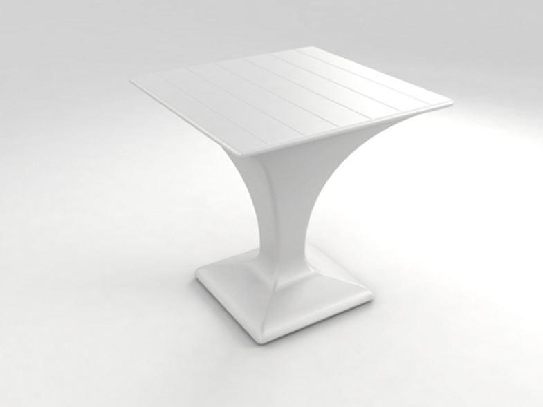 Square polyethylene table KEOPS | Table by Lamalva
