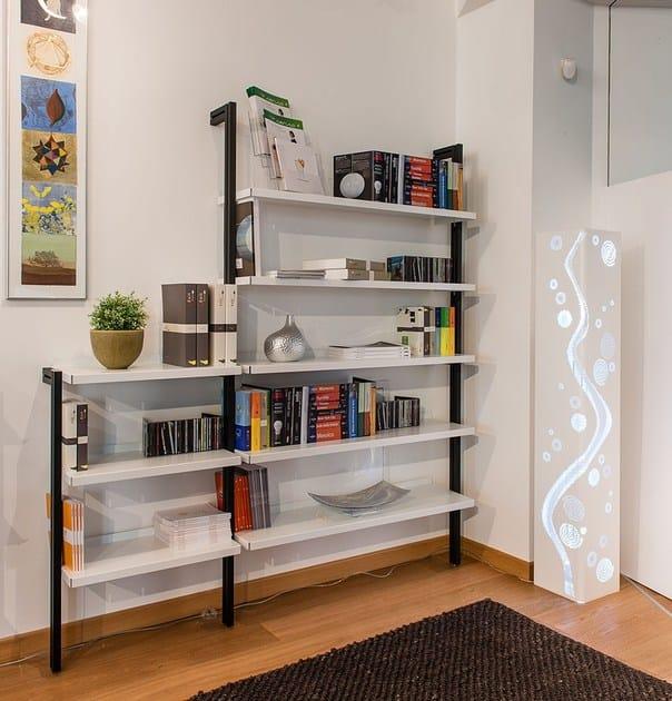 INUNO   Libreria ufficio modulare libreria CASAMIA fissaggio a parete