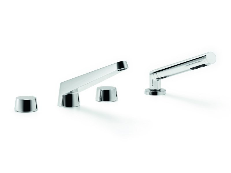4 hole bathtub set with hand shower SELV by Dornbracht