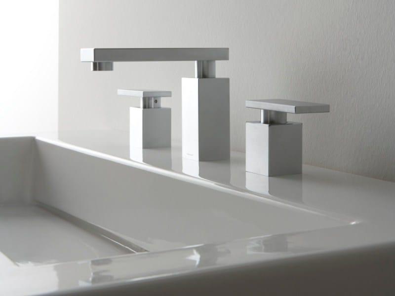 3 hole countertop washbasin tap SOLAR | 3 hole washbasin tap by Graff Europe West