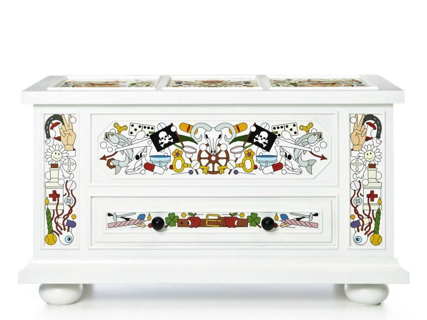 Pine chest of drawers ALTDEUTSCHE | Chest of drawers by moooi