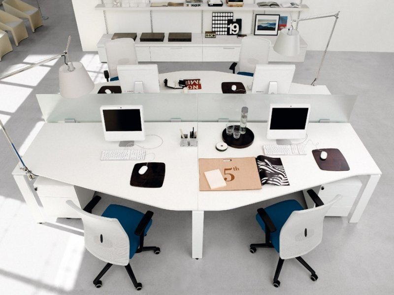 Multiple office workstation WORKING   Multiple office workstation by Zalf