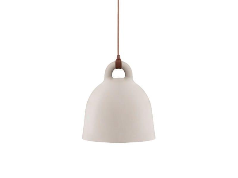 Direct light steel pendant lamp BELL by Normann Copenhagen