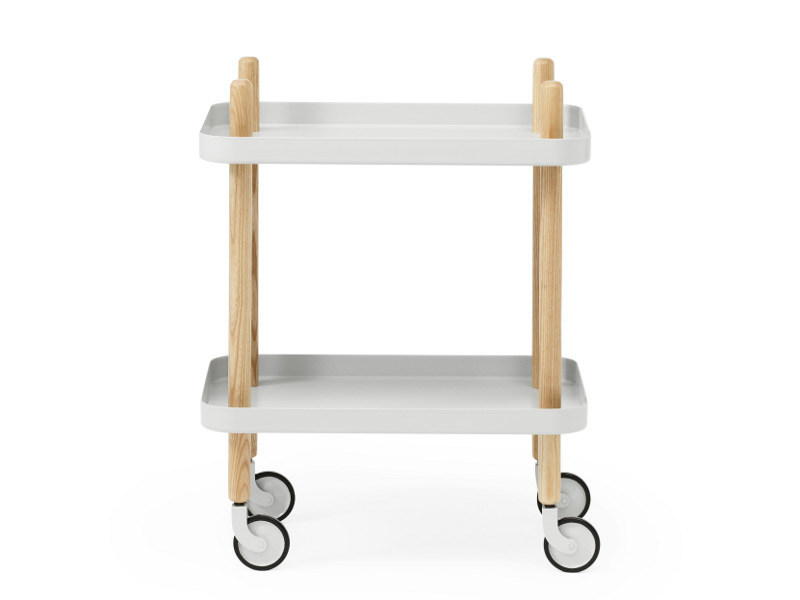 Wooden Kitchen trolley BLOCK by Normann Copenhagen